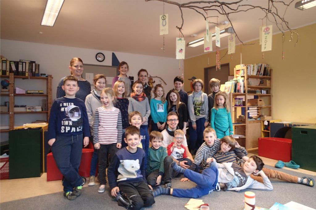 1月、Freie Schule での実習最後の日